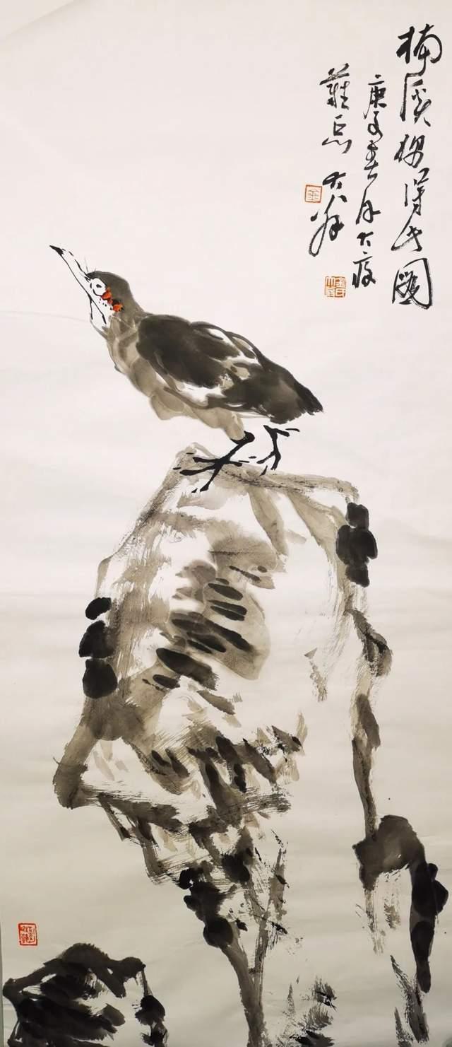 布局巧构  意趣盎然——品味著名艺术家金大翁苍茫与幽静的独特艺术风格