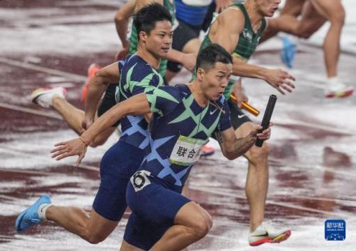 苏炳添率联合队夺全运会4x100米冠军
