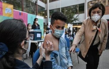 智利6岁至11岁儿童接种中国疫苗
