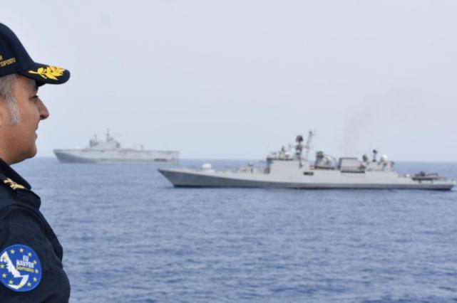 印度和欧盟举行演习 地点很特殊 中国海军也在附近