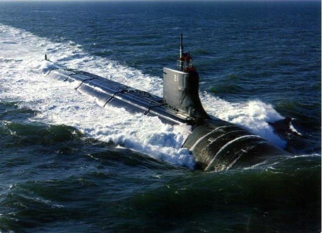 美军最强核潜艇全部部署亚太对付中国