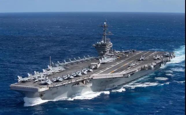 美媒:每次美国航母一接近 中国轰炸机群就起飞