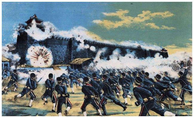 甲午战争之后,日本将所得赔款全部用于发展教育上?