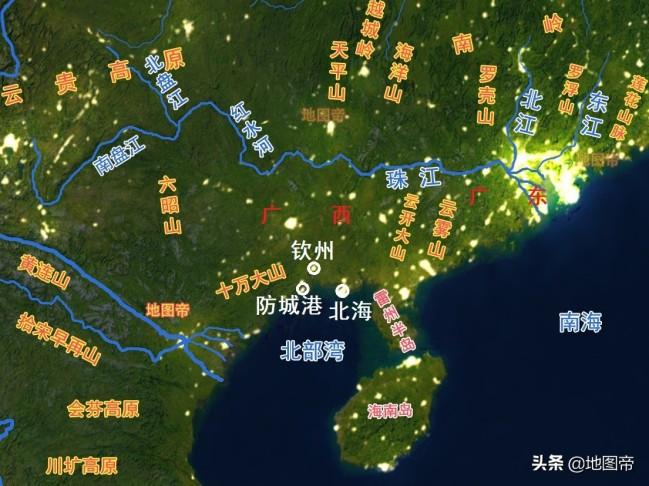广西如何从广东拿回出海口的?