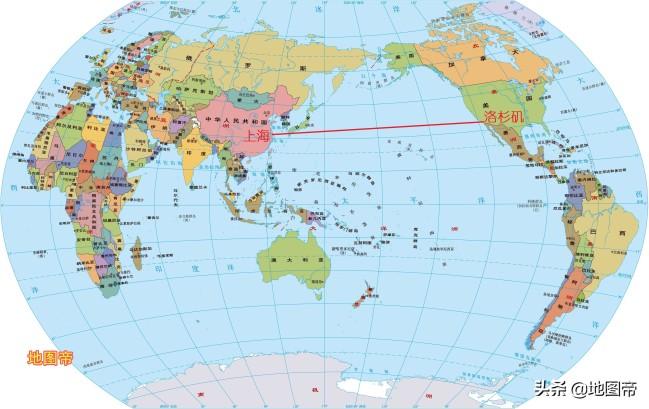 上海去洛杉矶的航班,为何绕飞俄罗斯和加拿大?