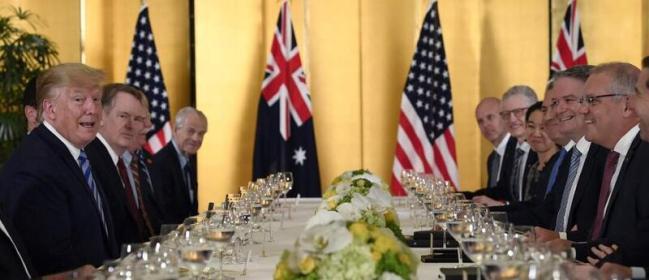 澳前官员:美澳同盟只是幻象,逢场作戏罢了