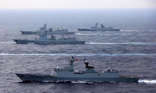 中国与印尼举行军事演习 英媒出来挑事