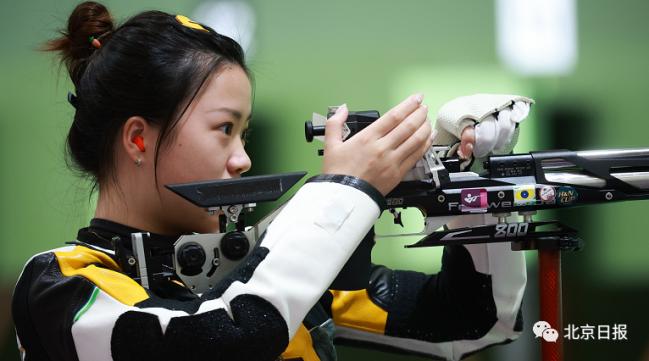 杨倩获东京奥运会首金 小学4年级时被选入宁波体校