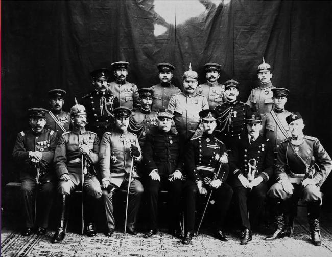 八国联军入宫。