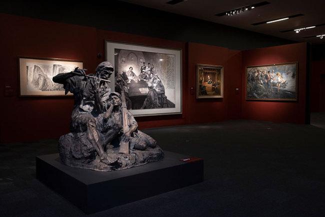 无声诗里颂千秋——美术经典中的党史主题展