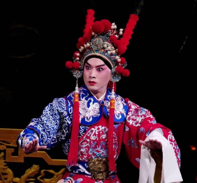 金喜全在京剧《兰陵王》中的兰陵王扮相