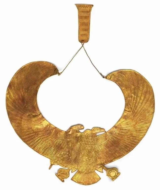 图坦卡蒙的金饰领