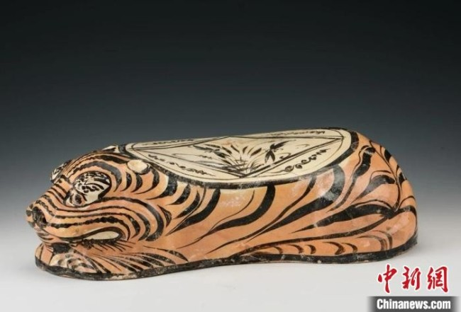 M12出土的瓷枕。 山西省考古研究院提供