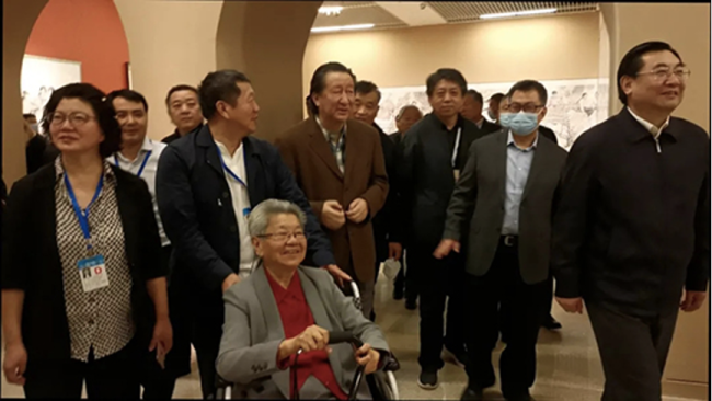 刘文西的作品反映着中华民族生生不息的生命力量