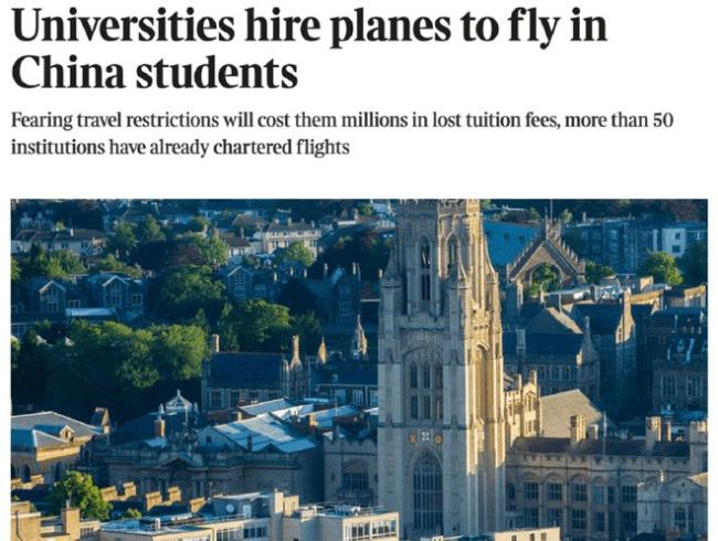 美国大发签证、英国包机接学生,留学市场正加速复苏?