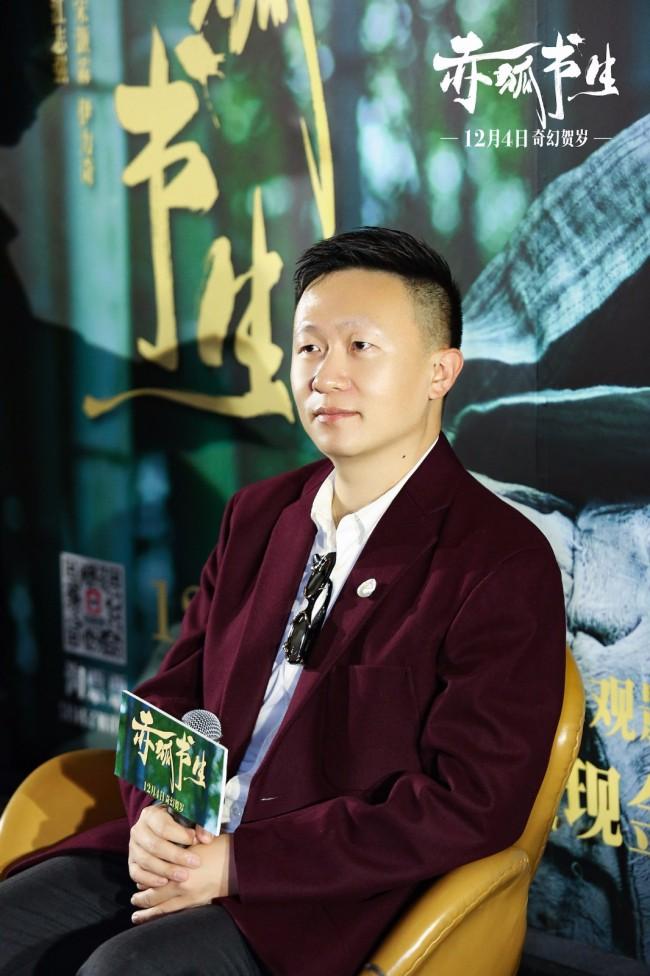 陈立农现身《赤狐书生》杭州路演 妈妈替儿子追星现场入坑