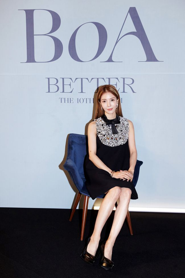 BoA出道20周年专辑《BETTER》将于12月1日公开