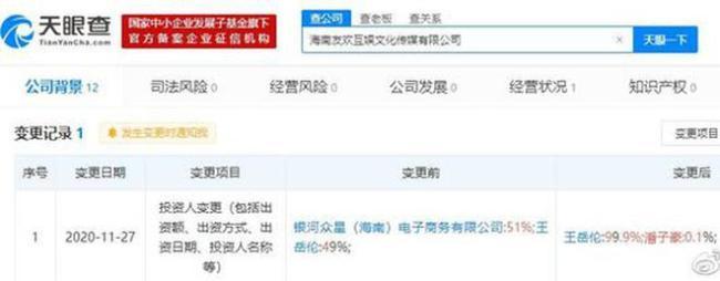 王岳伦工作室被横店影视起诉 被判还宣发费250万