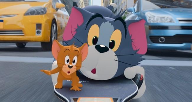 """《猫和老鼠》""""欢喜冤家""""版预告 汤姆杰瑞电影院笑闹元宵"""