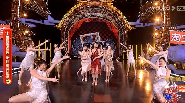 吾想创意助力打造2021浙江卫视喜剧春晚舞台视觉
