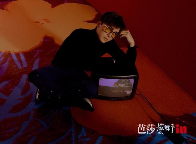 ️李易峰《芭莎艺术in》首刊封面 用心致敬安迪·沃霍尔