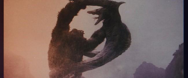《哥斯拉大战金刚》曝片段 历数两大怪兽高光战绩