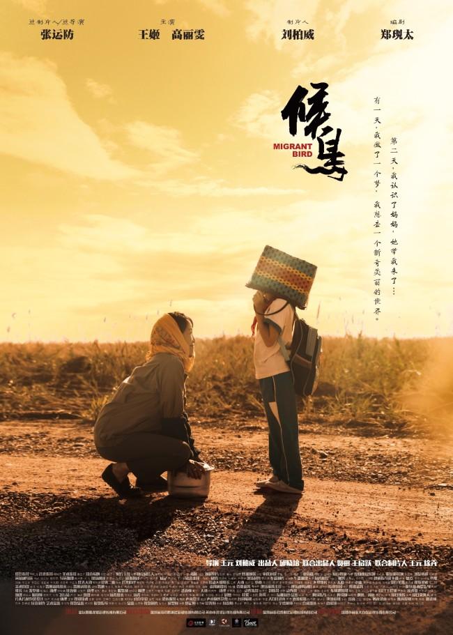 院线电影《候鸟》将定于6月11日全国院线上映