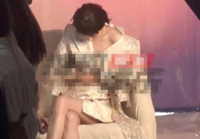 佟丽娅离婚后挑战性感风?穿着暴露秀香肩大长腿