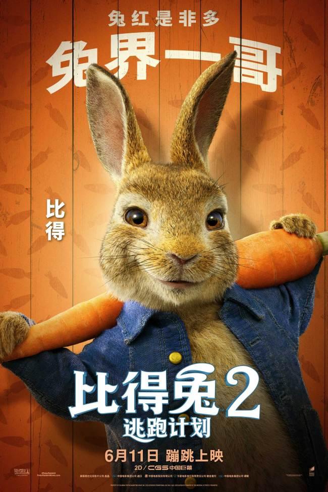 《比得兔2:逃跑计划》萌兔天团登场治愈不开心
