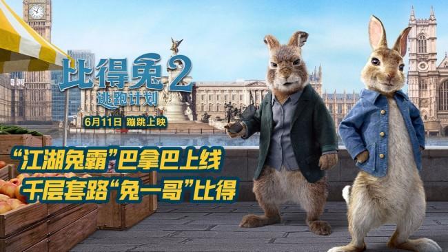《比得兔2:逃跑计划》反派巴拿巴登场萌兔天团搞事