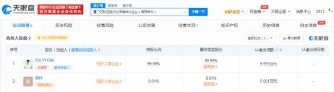 网曝吴亦凡公司疑已人去楼空 月初还在招聘新员工