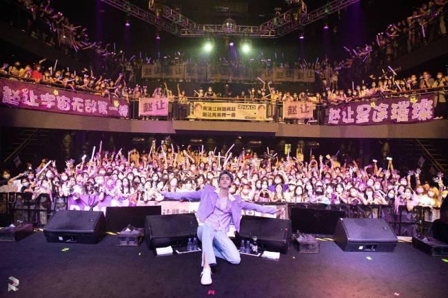 歌手赵让R.A.N.G首场个人音乐会圆满成功 用心诠释成长中的每一次律动