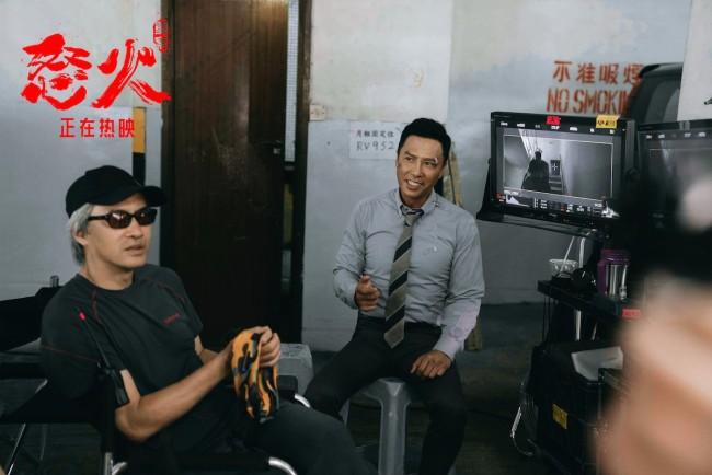 导演特辑 《怒火·重案》连续7天蝉联单日票房冠军