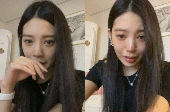 韩国女星Lizzy直播为酒驾道歉 称被恶意攻击很痛苦