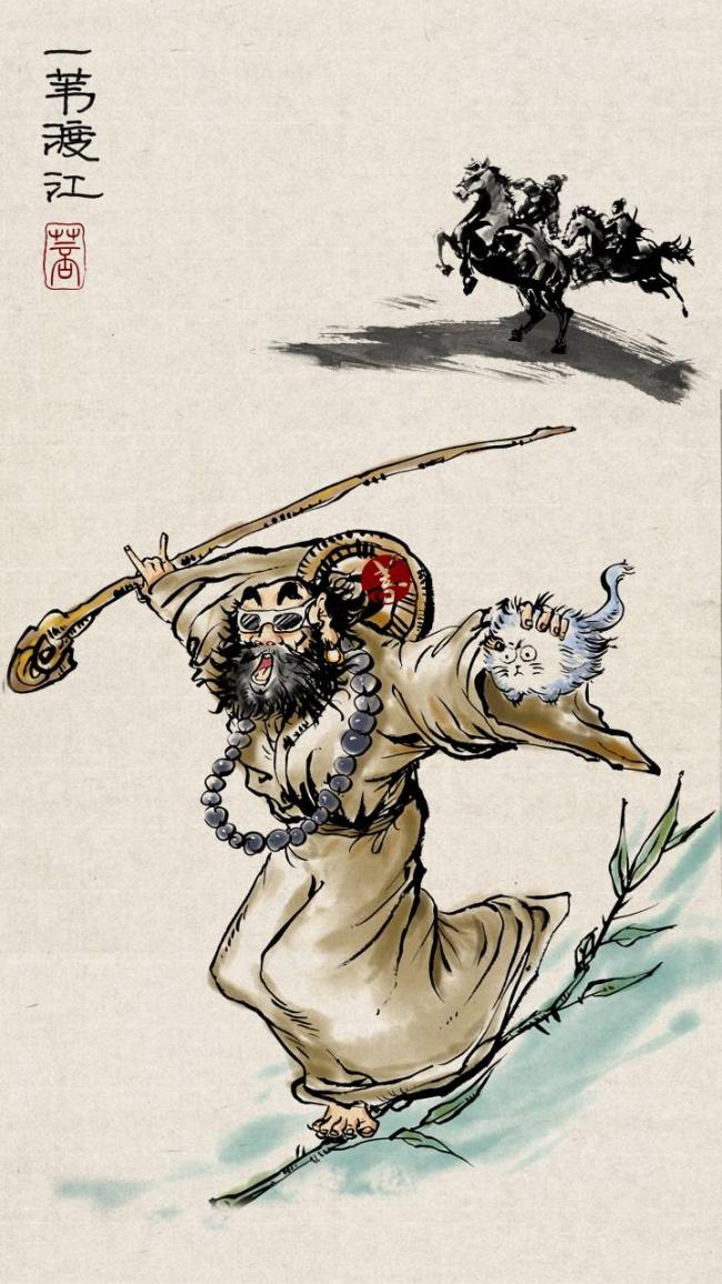 恭迎达摩祖师诞辰日:一个关于禅的故事