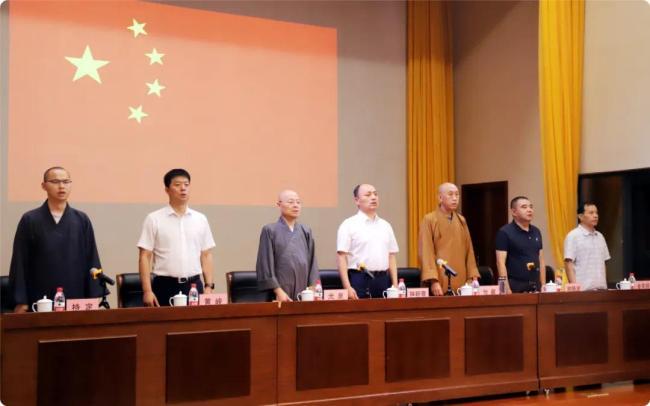 浙江佛教教职人员轮训首期培训班在雪窦山开班