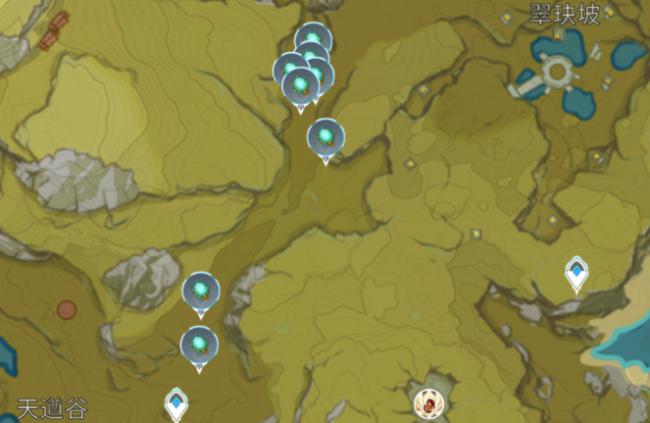 原神萤火虫风晶蝶发光髓采集位置一览