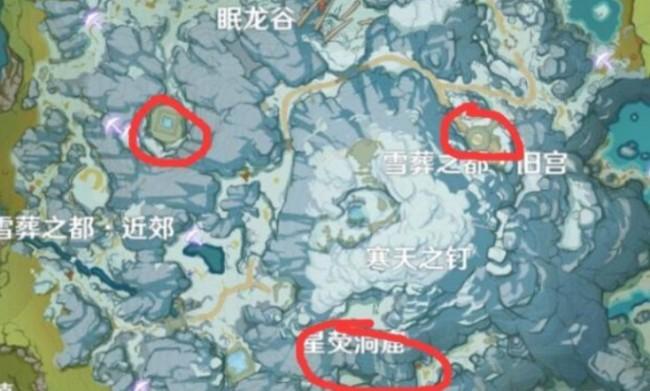 原神雪山密室大门位置及开启方法介绍