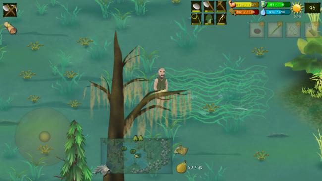 挨饿荒野丛林沼泽攻略 沼泽生存及隐藏任务详解