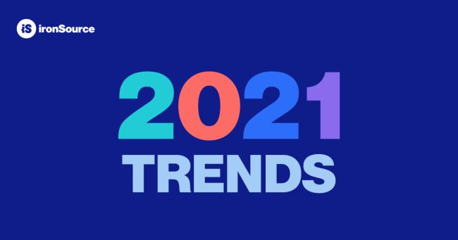 ironSource分享2021年移动游戏4个趋势