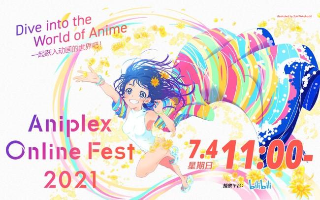 """""""Aniplex Online Fest 2021""""于7.4上午11点开幕"""