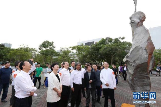 大学校园雕塑邀请展深圳开展 120余件雕塑作品参展