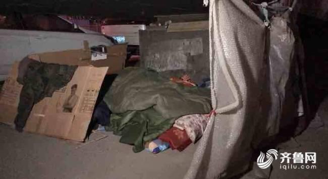 零下17摄氏度的夜晚 济南救助站连夜进行街头巡回救助