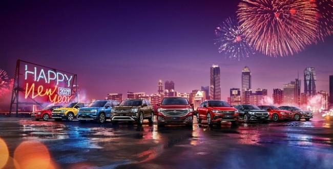 12月显强劲上升势头 上汽大众大众品牌卫冕年度单一品牌销量冠军