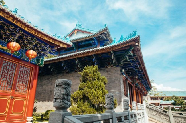 2月2日深圳天后博物馆发布临时闭馆通知 恢复开馆时间另行通知