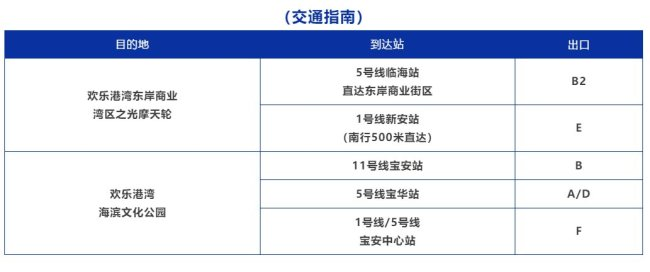 2021年深圳欢乐港湾春节期间入园游玩提示 附交通指南