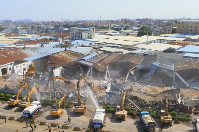 广东佛山累计完成村级工业园土地整理15.09万亩