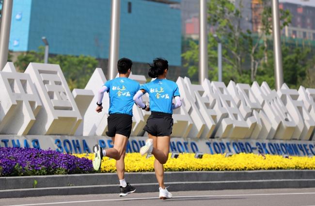 """""""上合发展集团杯""""2021上合示范区(青岛)马拉松赛公布形象大使"""