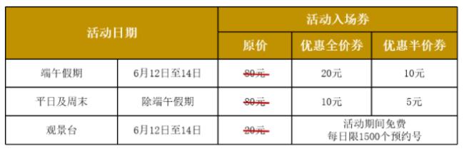 深圳光明小镇欢乐田园2021端午假期有什么优惠活动吗?