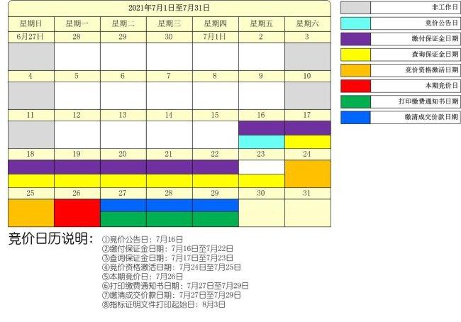 2021年第七期深圳车牌竞价时间及竞价入口